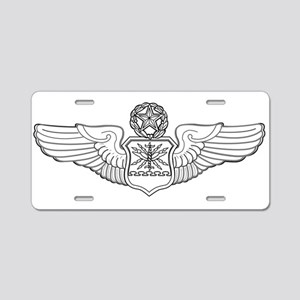 MASTER NAVIGATOR WINGS Aluminum License Plate