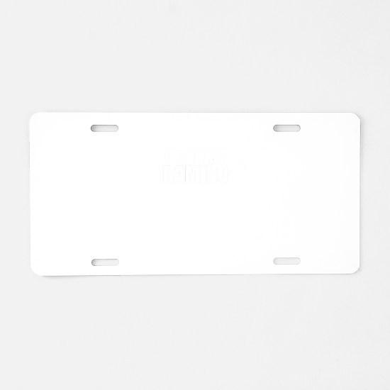 Just ask RAMIRO Aluminum License Plate