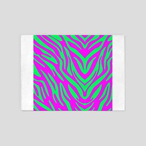 Fun Zebra 5'x7'Area Rug
