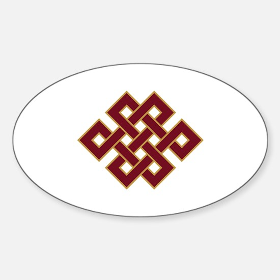 Endless knot Decal