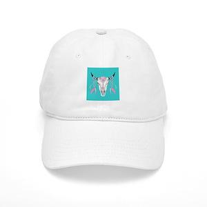 Buffalo Skull Baseball Cap