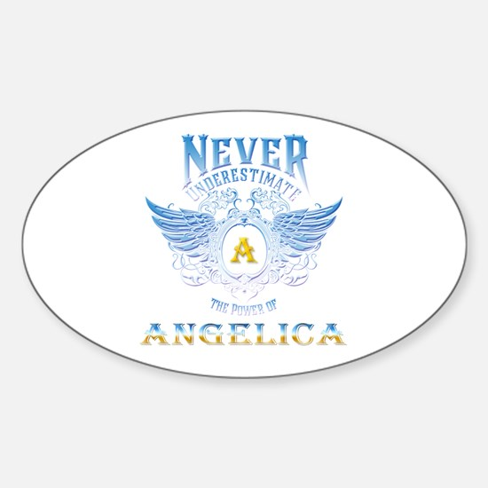 Never underestimate the power of angelica Decal