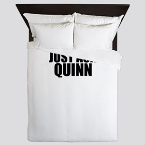 Just ask QUINN Queen Duvet