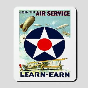Air Service: Learn Mousepad