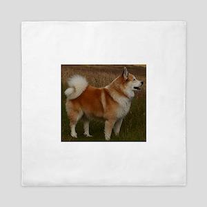 icelandic sheepdog full Queen Duvet