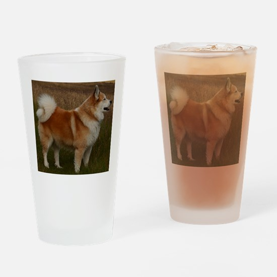 icelandic sheepdog full Drinking Glass