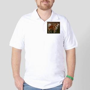icelandic sheepdog full Golf Shirt