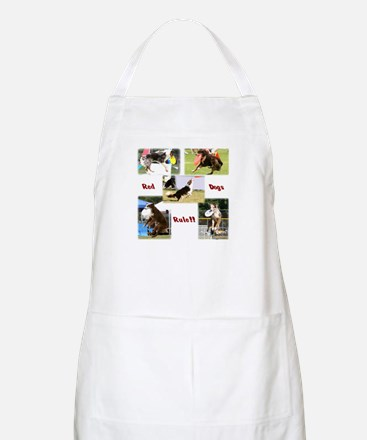 Red Dogs Rule - Frisbee! BBQ Apron