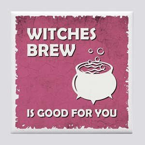 WITCHES BREW Tile Coaster