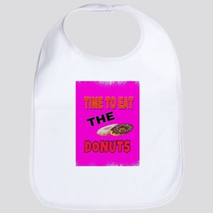 Time to eat the donuts Baby Bib
