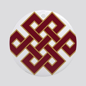 Endless knot Round Ornament