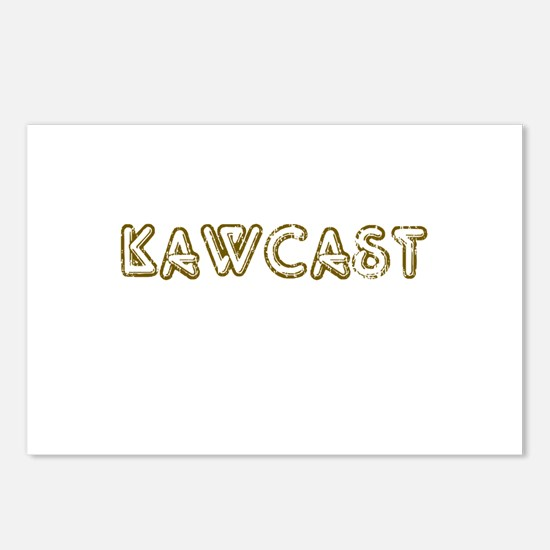 Kawcast(no logo) Postcards (Package of 8)