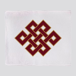 Endless knot Throw Blanket