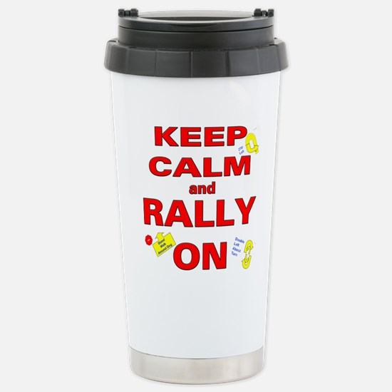 Cute Rally Travel Mug