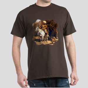 Mountain Men Western Art Dark T-Shirt