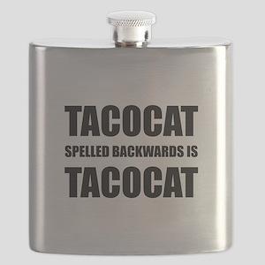 Taco Cat Flask