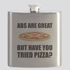 Abdominals Pizza Flask