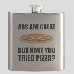 Abdominals Pizza Flask