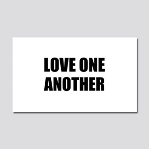 Love One Another Car Magnet 20 x 12