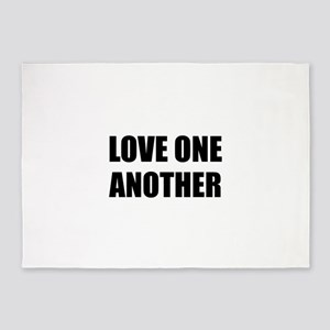 Love One Another 5'x7'Area Rug