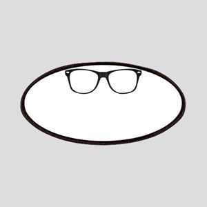 Geek glasses Patch