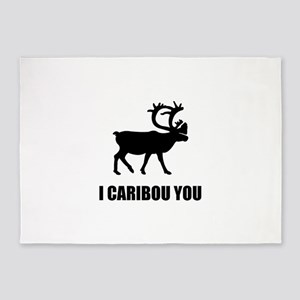 I Caribou You 5'x7'Area Rug