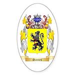 Sames Sticker (Oval 50 pk)