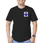 Samaniego Men's Fitted T-Shirt (dark)