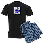 Samaniego Men's Dark Pajamas