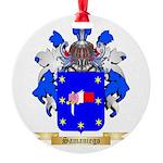 Samaniego Round Ornament