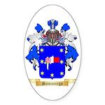 Samaniego Sticker (Oval)