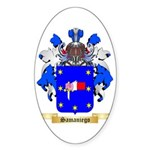 Samaniego Sticker (Oval 10 pk)