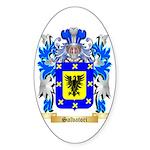 Salvatori Sticker (Oval 50 pk)