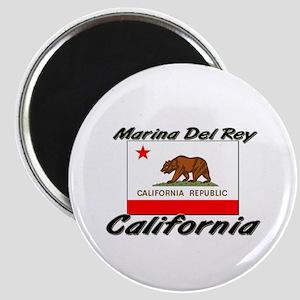 Marina Del Rey California Magnet
