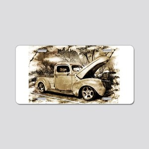 1940 Ford Pick-up Truck Aluminum License Plate
