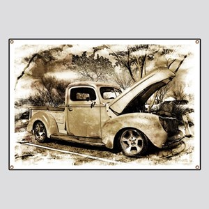 1940 Ford Pick-up Truck Banner