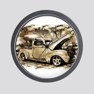 1940 Ford Pick-up Truck Wall Clock