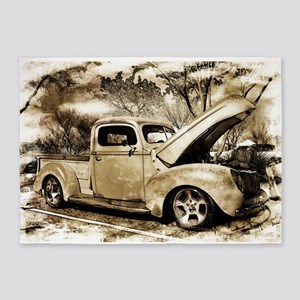 1940 Ford Pick-up Truck 5'x7'Area Rug