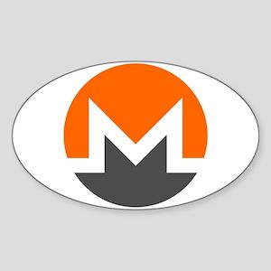 Monero Logo Symbol Design Icon Sticker