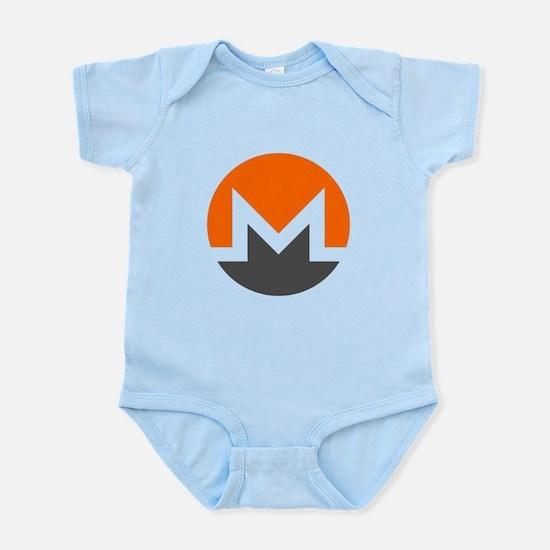 Monero Logo Symbol Design Icon Body Suit