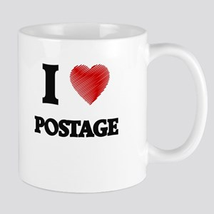 I Love Postage Mugs