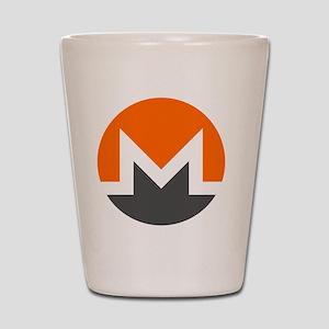 Monero Logo Symbol Design Icon Shot Glass