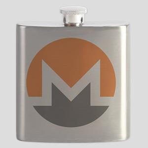 Monero Logo Symbol Design Icon Flask