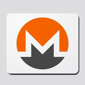 Monero Logo Symbol Design Icon Mousepad