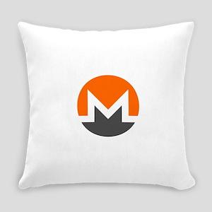 Monero Logo Symbol Design Icon Everyday Pillow