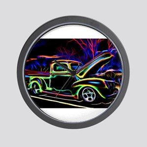1940 Ford Pick up Truck Neon Wall Clock