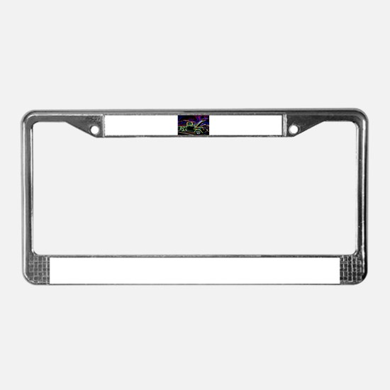 1940 Ford Pick up Truck Neon License Plate Frame
