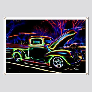 1940 Ford Pick up Truck Neon Banner