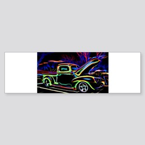 1940 Ford Pick up Truck Neon Bumper Sticker