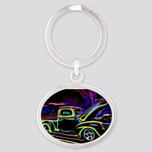 1940 Ford Pick up Truck Neon Keychains
